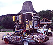 Rick McKinney's art car Duke